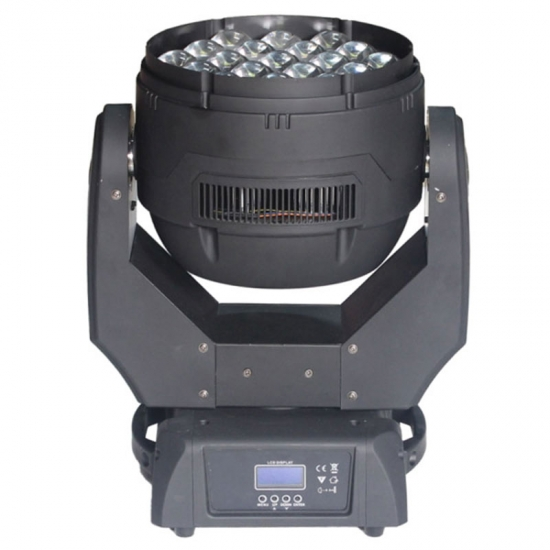 19 pcs zoom moving head lighting