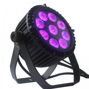 9pcs leds mini par can light