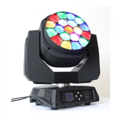 19 pcs bee eye moving head lighting
